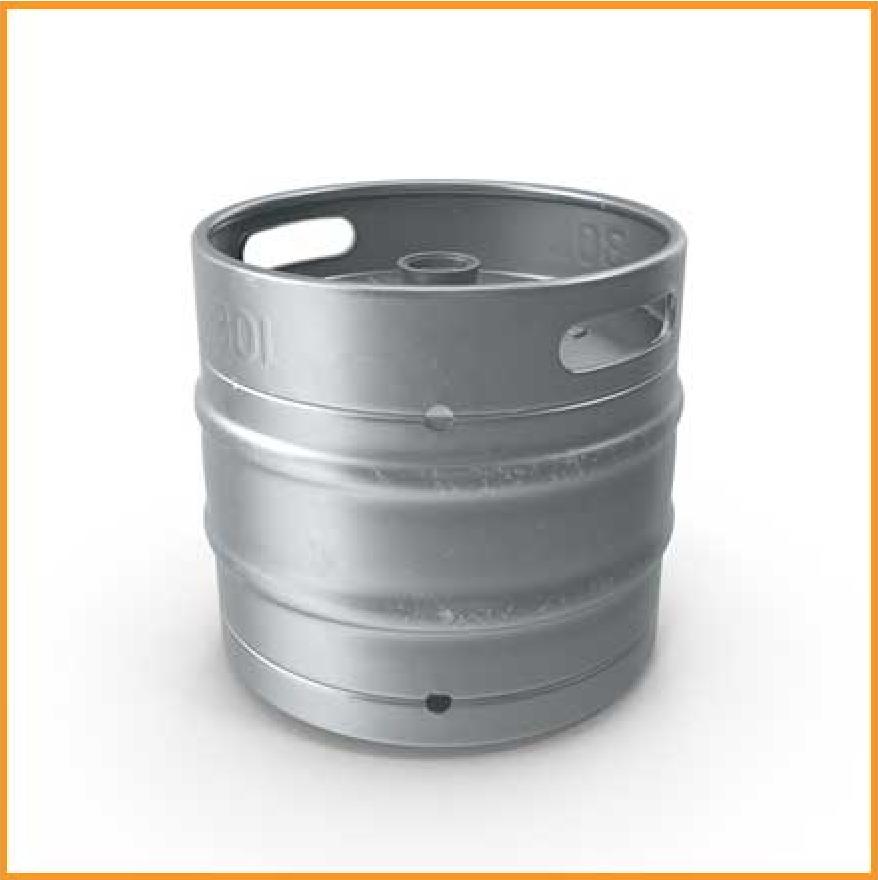 Beer Keg Cooling Down